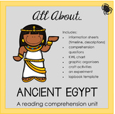 Reading Comprehension Unit - Ancient Egypt