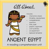 Reading Comprehension Unit - Ancient Egypt