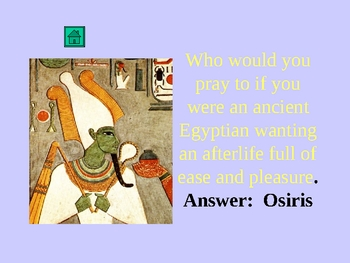 Ancient Egyptian Religion Jeopardy Game