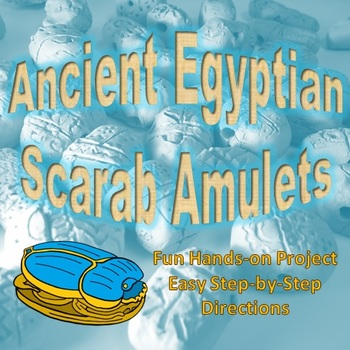Ancient Egyptian Scarab Amulets