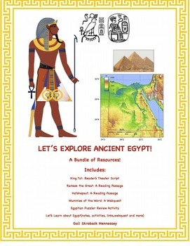 Ancient Egyptians: A Bundle of Resources!(Ancient Egyptians)