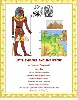 Ancient Egyptians: A Bundle of Resources!(Ancient Egyptians)