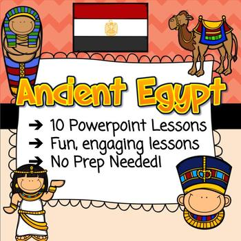 Ancient Egyptians - Complete Unit  (10 Lessons)