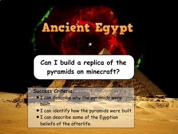 Ancient Egyptians - Complete Unit  (10 Lessons)