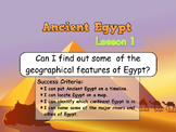 Ancient Egyptians - Geography of Egypt