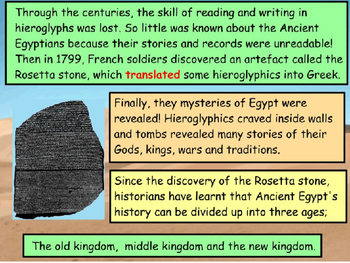 Ancient Egyptians - The Pyramids (Minecraft Lesson)