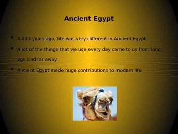 Ancient Eygpt_PowerPoint_2nd Grade