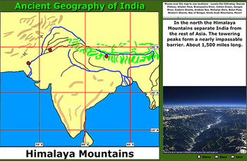 Ancient Geography of India - Bill Burton