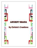 Ancient Ghana History & Activity Unit Study