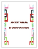 Ancient Ghana History & Activity Unit Study
