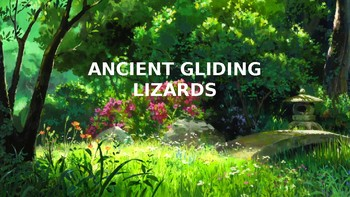 Ancient Gliding Lizards