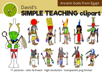 Ancient Gods and Goddesses of Egypt