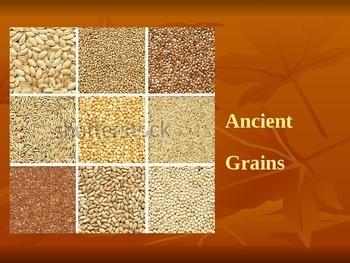 Ancient Grains PPT Lesson