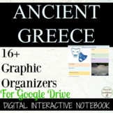 Ancient Greece Interactive Notebook for Google Drive and 1:1