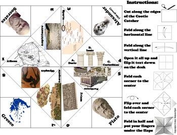 Ancient Greece Unit Activity