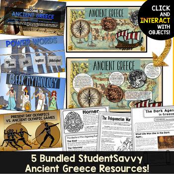 Ancient Greece Activities Resource Bundle