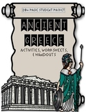 Ancient Greece {Activities, Worksheets, & Handouts}
