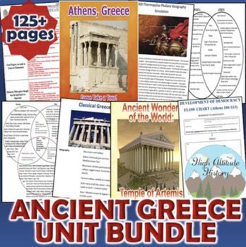 Ancient Greece Activity *Bundle* (World History)