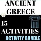Ancient Greece Activities Bundle for Ancient Greece Unit