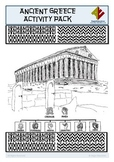 Ancient Greece Activity Pack