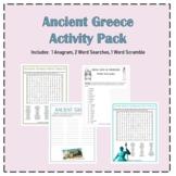 ANCIENT GREECE Activity Pack Bundle