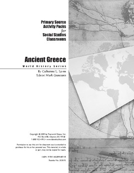 Ancient Greece Activity Pack for Social Studies