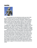 Ancient Greece Activity (With Higher Order Thinking Questions)