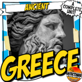 Ancient Greece Unit Plan Activity & Note Bundle Common Core Grades 5-8
