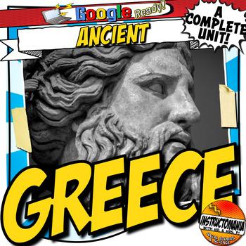 Ancient Greece Unit Plan Lesson & Activity Bundle History Common Core Grades 5-8