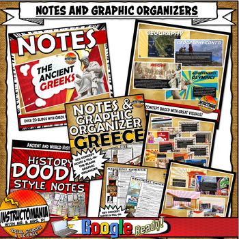 Ancient Greece Complete Unit Plan Lesson & Activity Set Common Core 5-8