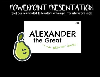 Alexander the Great (Ancient Greece Lesson Plan)