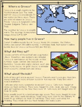 Ancient Greece: An Introduction for Elementary Students