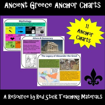 Ancient Greece Anchor Charts