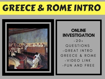 Ancient Greece & Ancient Rome Intro FREE