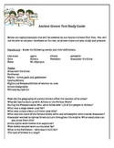 Ancient Greece Assessment Study Guide
