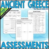 Ancient Greece Assessments and Study Guide