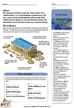 Ancient Greece: Athens MINILESSON