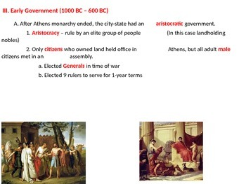 Ancient Greece - Athens and Sparta