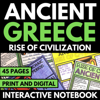 Ancient Greece Unit Athens and Sparta Informational Text
