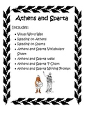 Ancient Greece: Athens and Sparta Activity Pack