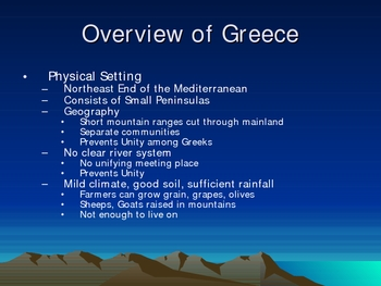 Ancient Greece Background
