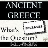 Ancient Greece Bell-Ringers What's the Question? for Ancie