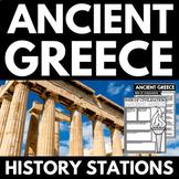 Ancient Greece Unit - Handouts, Activities, Projects