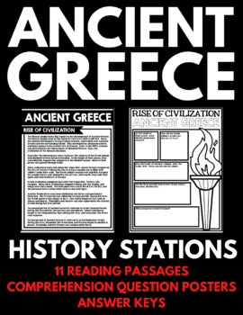Ancient Greece Unit - Handouts, Activities, Projects