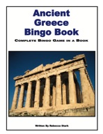 Ancient Greece Bingo Book