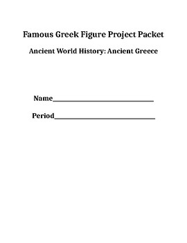 Ancient Greece Biography Project