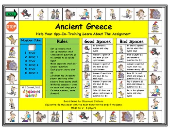 Ancient Greece Board Game
