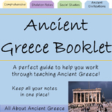 Ancient Greece Booklet (and extras!)