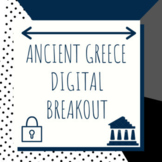 Distance Learning: Ancient Greece Digital Breakout / Escape Room