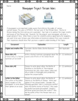 Ancient Greece Unit: 13 Projects and Activities